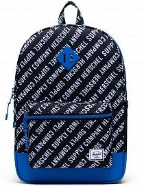 Рюкзак Herschel Heritage Youth X-Large 22l,  Roll Call Black/White/Lapis Blue