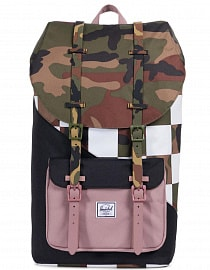 Рюкзак HERSCHEL LITTLE AMERICA Woodland Camo/Ash Rose/Checker