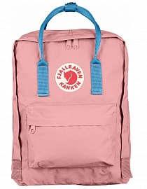 Рюкзак Fjallraven Kanken 16l, Pink-Air Blue