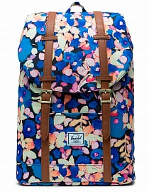 Рюкзак Herschel Retreat Mid-Volume 19,5l Painted Floral/Tan Synthetic Leather