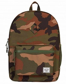 Рюкзак HERSCHEL подростковый Heritage Youth X-Large Woodland Camo, 20l
