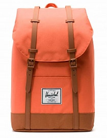 Рюкзак Herschel Retreat Mid-Volume 14l, Apricot Brandy/Saddle Brown
