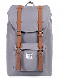 Рюкзак Herschel Little America 25l, Grey/Tan Synthetic Leather