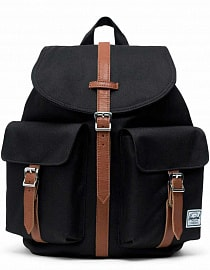 Рюкзак Herschel Dawson Small Black/Tan Synthetic Leather, 13l