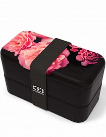 Ланчбокс Monbento MB Original Flower mood black