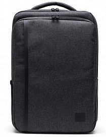 Рюкзак Herschel Tech Daypack Mid 18l, Black Crosshatch