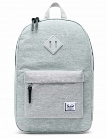 Рюкзак Herschel Heritage Mid-Volume Light Grey Crosshatch/Grey Rubber, 14.5l