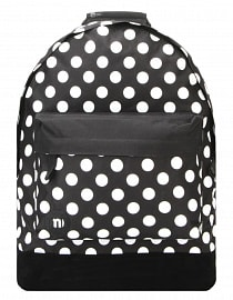Рюкзак Mi-Pac Polkadot All Polka Black/White, 17л