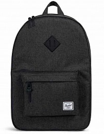 Рюкзак Herschel Heritage 21,5l Black Crosshatch/Black
