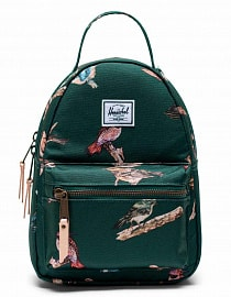 Рюкзак Herschel Nova Mini 9L, Dark Green Birds