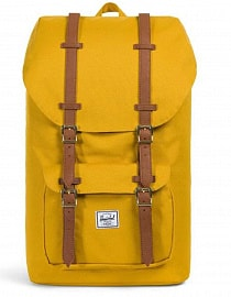 Рюкзак HERSCHEL LITTLE AMERICA Arrowwood/Tan Synthetic Leather