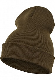 FLEXFIT Шапка Heavyweight Long Beanie olive