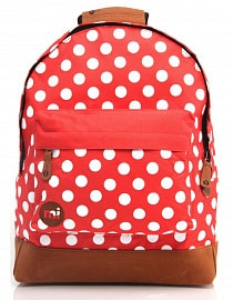 Рюкзак Mi-Pac All Polka Bright red/white, 17л