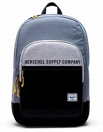 Рюкзак Herschel Kaine 30l,Mid Grey Crosshatch/Light Grey Crosshatch/Black