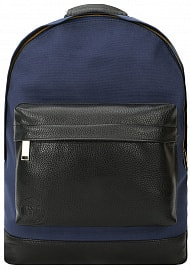 Рюкзак Mi-Pac Gold Canvas Tumbled Navy/Black, 17л