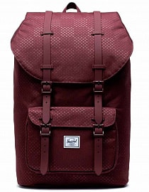 Рюкзак HERSCHEL Little America Plum Dot Check, 25l