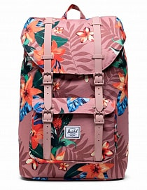 Рюкзак Herschel Little America Mid-Volume 17l, Summer Floral Ash Rose