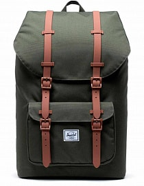 Рюкзак HERSCHEL Little America Dark Olive/Saddle Brown, 25l