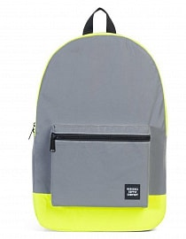 HERSCHEL рюкзак PACKABLE DAYPACK Silver Reflective/Neon Yellow Reflective