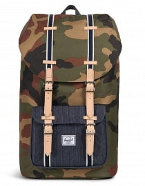 Рюкзак HERSCHEL LITTLE AMERICA Woodland Camo/Dark Denim