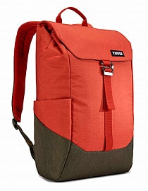 Рюкзак городской Thule Lithos Backpack 16L - Rooibos/Forest Night