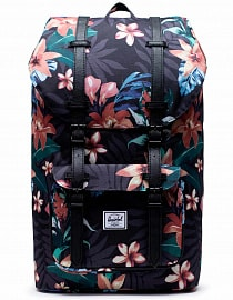 Рюкзак Herschel Little America 25l, Summer Floral Black