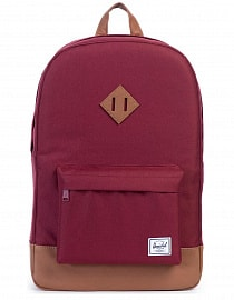 Рюкзак Herschel Heritage Windsor Wine/Tan Synthetic Leather 21,5l
