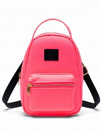 Nova Crossbody, Neon Pink/Black