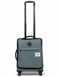 Чемодан Herschel Highland Carry On, Raven Crosshatch