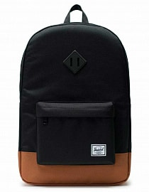 Рюкзак Herschel Heritage Black/Saddle Brown, 21,5l