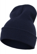 FLEXFIT Шапка Heavyweight Long Beanie navy