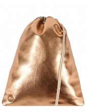 Рюкзак-мешок Mi-Pac Gold Kit Bag Metallic Rose Gold