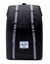 Рюкзак HERSCHEL Retreat Mid-Volume Black/Checkerboard, 14l