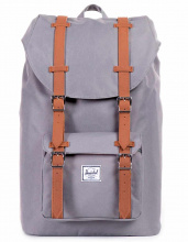 Рюкзак HERSCHEL Little America Mid-Volume Grey/Tan Synthetic Leather, 17l