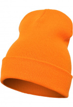 FLEXFIT Шапка Heavyweight Long Beanie Blaze orange