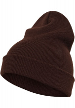 FLEXFIT Шапка Heavyweight Long Beanie brown
