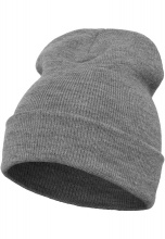 FLEXFIT Шапка Heavyweight Long Beanie heather grey