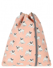 Рюкзак-мешок Mi-Pac Gold Kit Gym Bag Pugs Peach